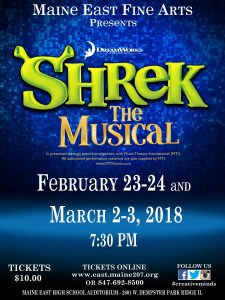 Shrek Tickets Poster