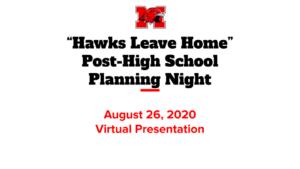 Hawks Leave Home Aug, 2020