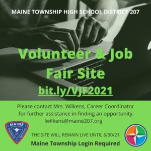 Volunteer & Job Fair Site