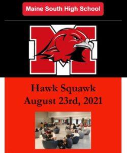 Hawk Squawk August 23 2021