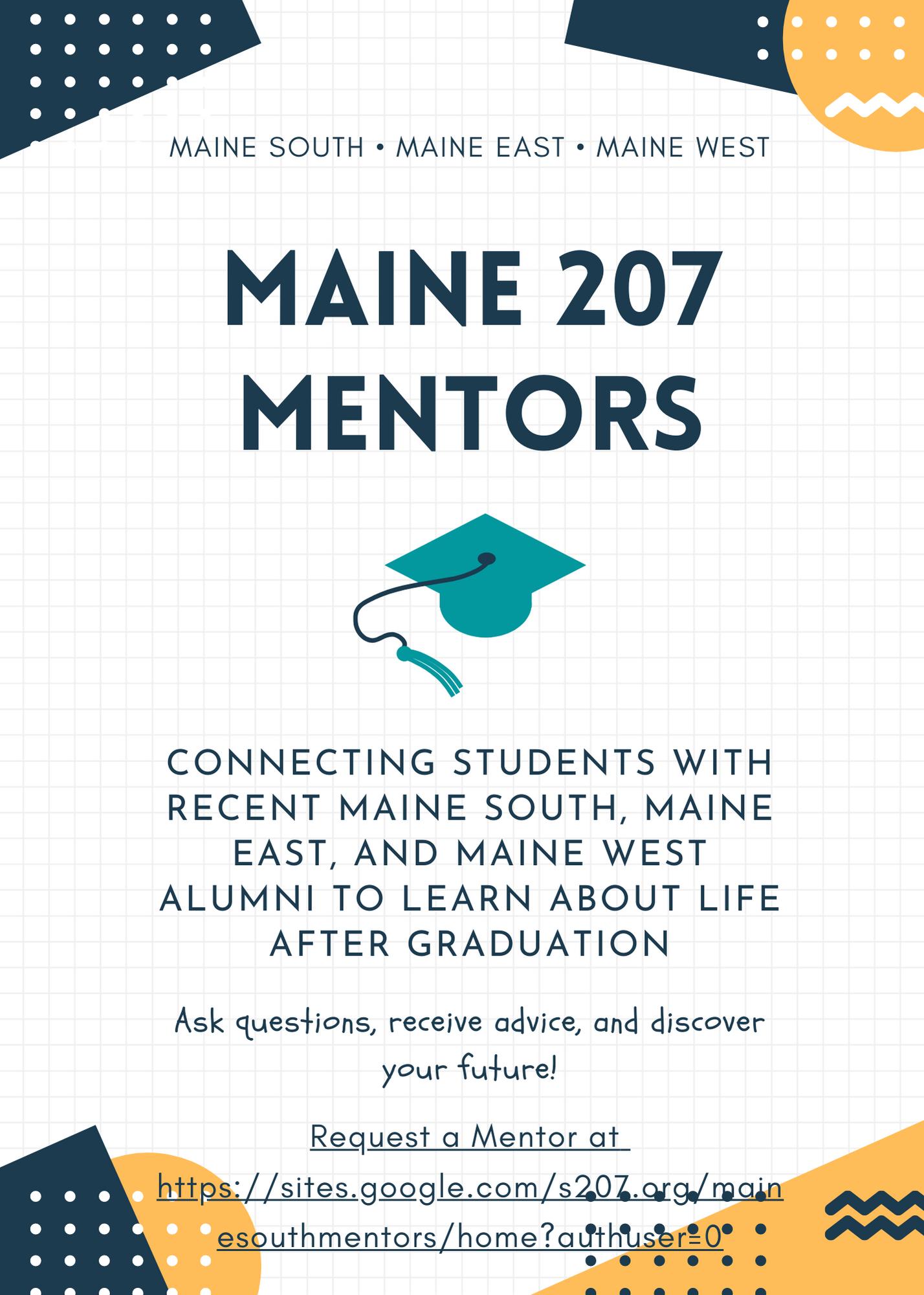 Maine 207 Mentors